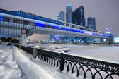 Skyscrapers in Moscow — Stock Photo