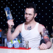 Stock Photo: Bartender