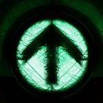 il verde, vanno dritto verso l'alto — Foto Stock