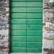 Simple old door - Stock Photo