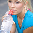 Cool water after the long run — Stock Photo #2493893