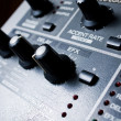 Efx knobs of a drum machine - Stock Photo
