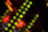 Disco lights out of focus — Stock Photo