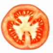 Royalty-Free Stock Photo: Red Tomato in a Cut