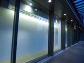 Empty showcase — Stock Photo