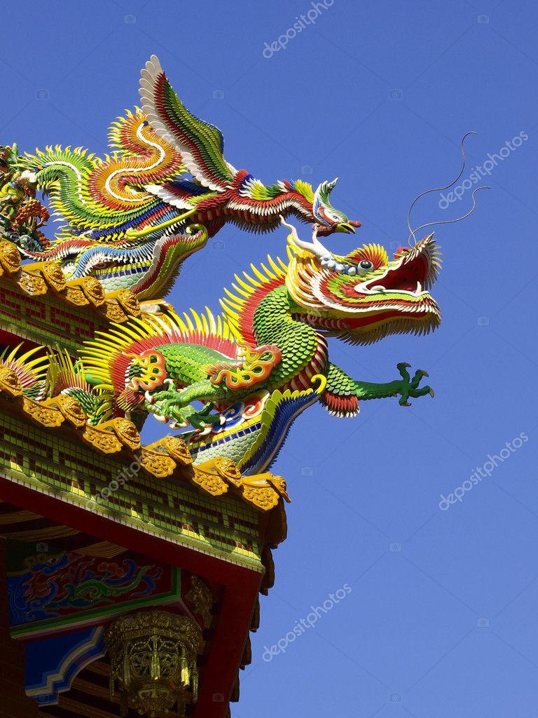 phoenix roof of Chinese