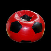 Padded stool - ball — Stock Photo