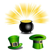 St. Patrick Day Icons — Stock Vector