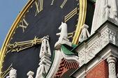Сhiming clock — Foto Stock