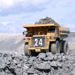 Big mining truck - Stock Photo