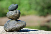 Zen Rocks — Stock Photo