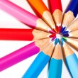 Circle Of Colored Pencils — Stock Photo #2459431