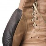 luvas de boxe antigas — Foto Stock