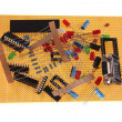 Stock Photo: Hobby electronic parts