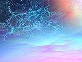 Universe storm — Stock Photo