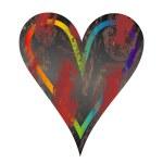 Vector grunge heart — Stock Vector #2498962