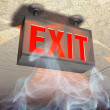 Exit sign — Stock Photo #2522479