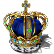 Stock Photo: Royal crown