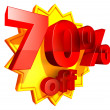 Stock Photo: 70 percent price off