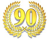 Congratulation 90 — Stock Photo
