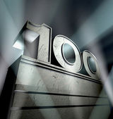Congratulation 100 — Stock Photo