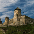 Old castle on a hill — Stock fotografie