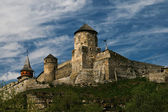 Old castle on a hill — Stock Photo