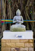Bouddha en pierre — Photo