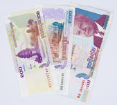 Cambodian money — Stock Photo