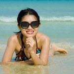 Beauty at the beach — Stock Photo #2542788