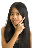 Beautiful asian teeny — Stockfoto