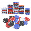 Royalty-Free Stock Photo: Poker Chips
