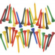 Golf Tees - Stock Photo