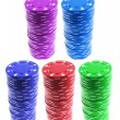 Stacks of Poker Chips — Stock Photo #2497158