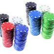 Stacks of Poker Chips — Stock Photo #2497173