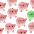 Stock Photo: Piggy Banks