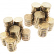 Royalty-Free Stock Photo: Stacks of Coins