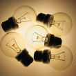 Stock Photo: Light Bulbs