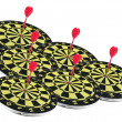 Stock Photo: Dart Boards