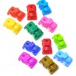 Plastic Toy Cars — Stock Photo #2497841