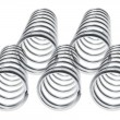 Stock Photo: Metal Coils
