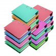 Stacks of Ring Binders — Stock Photo