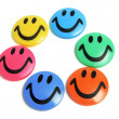 Smiley Fridge Magnets — Stock Photo