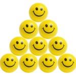 Smiley Balsl — Stock Photo