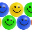 Stock Photo: Smiley Bals