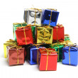 Stack of Gift Parcels — Stock Photo #2498880
