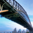 Sydney harbour bridge, Austrálie — Stock fotografie #2498950