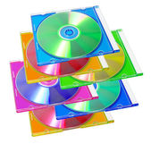 Compact Disc in Plastic Case — Stock Photo