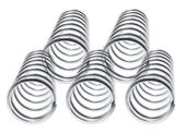 Metal Coils — Stock Photo