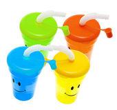 Plastic Sucking Cups — Stock Photo